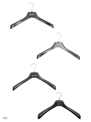 Набор вешалок Magnetiq. Цвет: черный