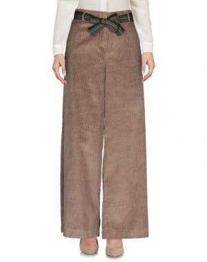 Повседневные брюки MICHELA MII. Цвет: песочный