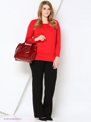 Блузка VISERDI. Цвет: красный
