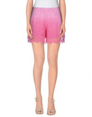 Повседневные шорты TEMPTATION. Цвет: розовый