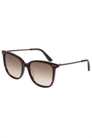 Солнцезащитные очки Bottega Veneta. Цвет: 005