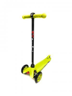 Самокат TT Mini scooter зелёный Tech Team. Цвет: зеленый