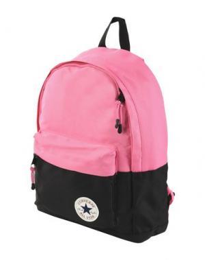 Рюкзаки и сумки на пояс CONVERSE ALL STAR. Цвет: фуксия