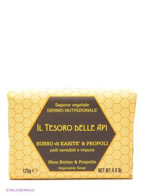 Натуральное растительное мыло Iteritalia. Цвет: желтый
