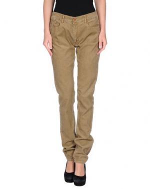 Повседневные брюки APRIL 77. Цвет: хаки