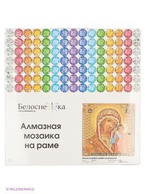 Мозаика на подрамнике. Икона Божией матери Казанская (071-ST-S) Белоснежка. Цвет: коричневый