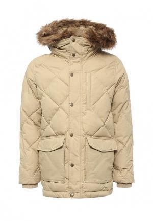Куртка утепленная Gap. Цвет: бежевый