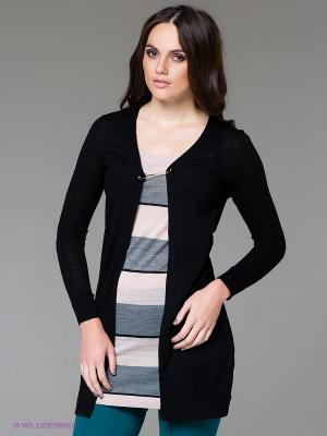 Туника SILVIAN HEACH. Цвет: черный, светло-серый, кремовый