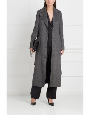 Кашемировое пальто William Gabriela Hearst. Цвет: серый