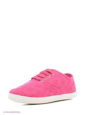 Кеды Алми. Цвет: розовый, малиновый