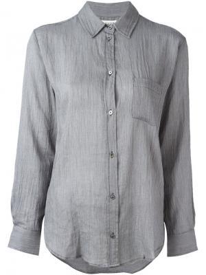Классическая рубашка Masscob. Цвет: серый