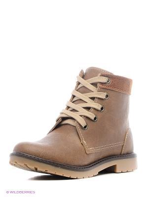 Ботинки Klin. Цвет: коричневый, темно-коричневый