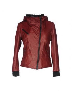 Куртка - -ONE > ∞. Цвет: красно-коричневый