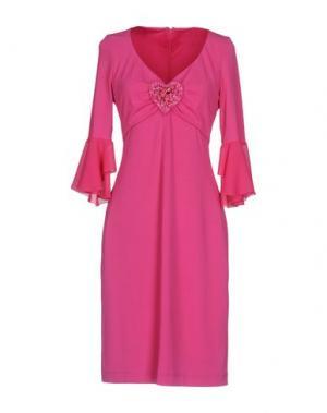 Короткое платье MARTA PALMIERI. Цвет: фуксия