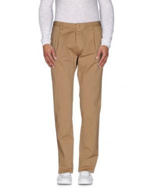 Повседневные брюки OFFICINA 36. Цвет: верблюжий