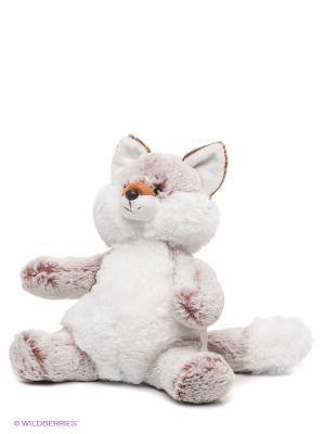 Мягкая игрушка Лиса Aurora. Цвет: белый