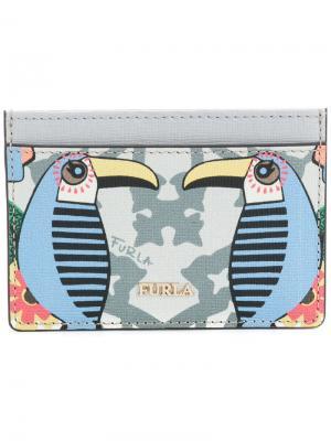 Babylon card holder Furla. Цвет: многоцветный