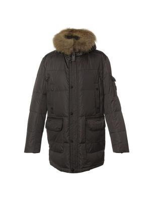 Куртка NortFolk. Цвет: темно-коричневый
