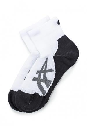 Комплект носков 2 пары ASICS. Цвет: белый