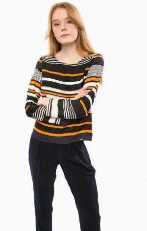 Блуза с длинными рукавами в полоску Cinque. Цвет: полоска