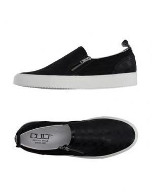 Низкие кеды и кроссовки CULT. Цвет: черный
