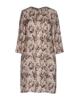 Короткое платье ST.EMILE. Цвет: бежевый