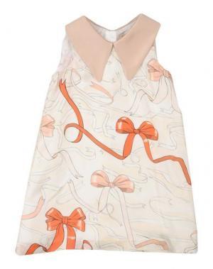 Платье HUCKLEBONES. Цвет: слоновая кость