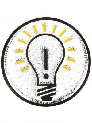 Стикер Light Bulb Anya Hindmarch. Цвет: металлический