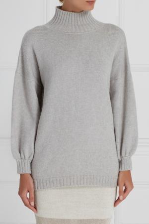 Серый шерстяной свитер A LA RUSSE. Цвет: серый