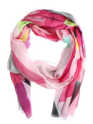 Платок Migura. Цвет: малиновый, зеленый, розовый, фиолетовый
