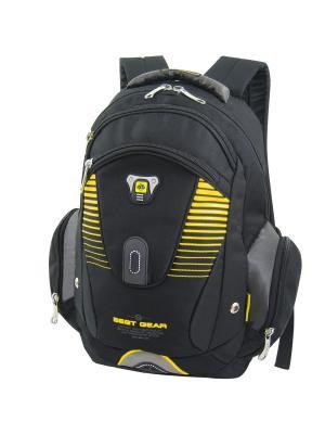 Рюкзак Stelz. Цвет: черный, желтый