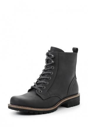 Ботинки ELAINE ECCO. Цвет: черный