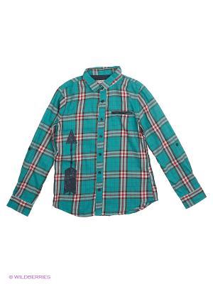 Рубашка Reserved. Цвет: зеленый