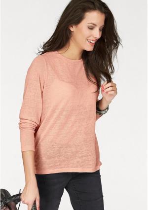 Пуловер Aniston. Цвет: розовый