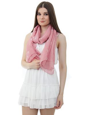 Палантин Gusachi. Цвет: розовый