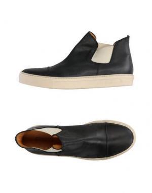 Высокие кеды и кроссовки SEBOY'S. Цвет: черный