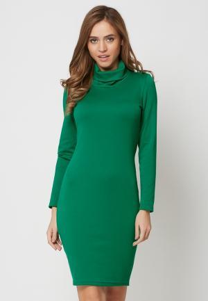 Платье Alex Lu. Цвет: зеленый