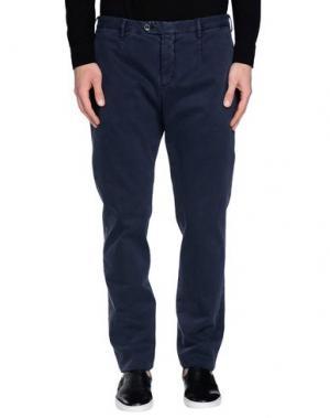 Повседневные брюки BRIGLIA 1949. Цвет: темно-синий