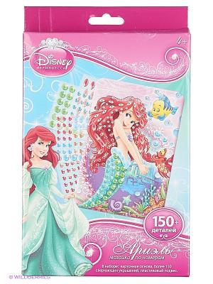 Disney Princess Мозаика -сингл Ариель Чудо-творчество. Цвет: красный, розовый, зеленый