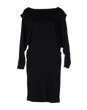 Короткое платье LES PRAIRIES DE PARIS. Цвет: темно-синий