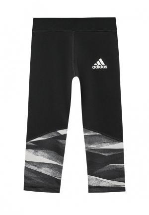 Капри adidas Performance. Цвет: черный