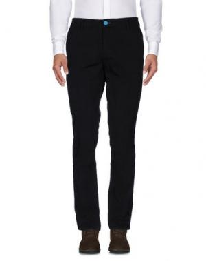 Повседневные брюки DIMATTIA. Цвет: темно-коричневый