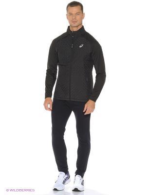 Куртка Hybrid Jacket ASICS. Цвет: черный