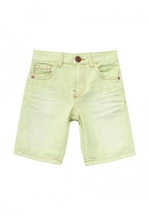 Шорты джинсовые Blukids. Цвет: зеленый