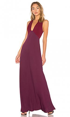Вечернее платье JILL STUART. Цвет: фиолетовый