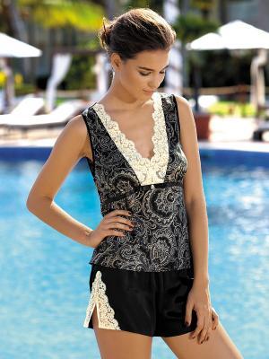 Пижама Mia-Mia. Цвет: черный