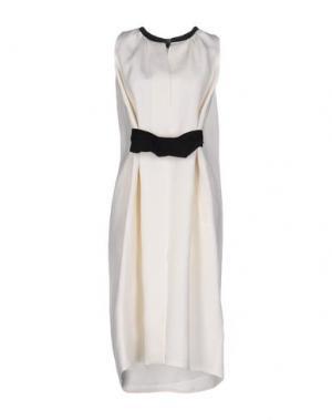 Платье до колена MARTIN GRANT. Цвет: слоновая кость