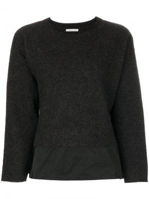 Layered sweater Stefano Mortari. Цвет: серый