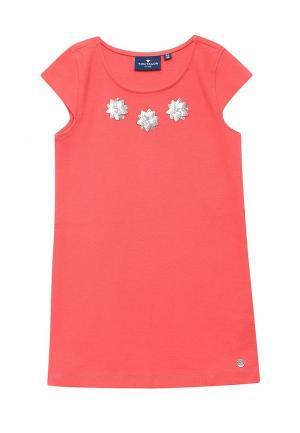 Платье Tom Tailor. Цвет: коралловый
