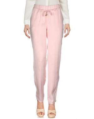 Повседневные брюки VERYSIMPLE. Цвет: розовый